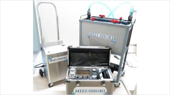 オゾン水個別給水配管洗浄
