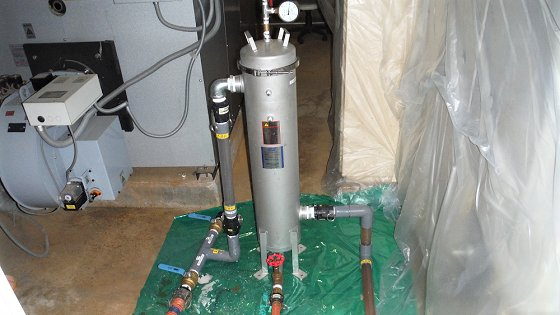 エコフラッシング(冷温水水質改善作業)