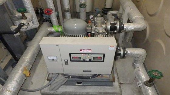 加圧給水ポンプユニット更新前