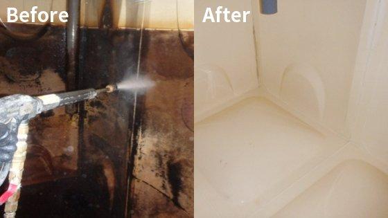 井水貯水槽清掃